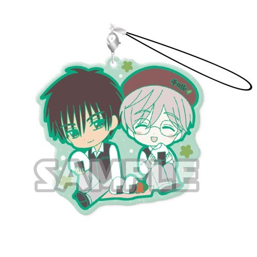 Card Captor Sakura Touya and Yukito Duo Rubber Phone Strap