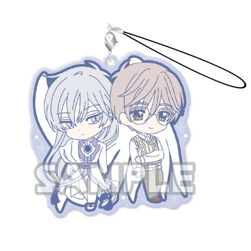 Card Captor Sakura Yue and Yukito Duo Rubber Phone Strap