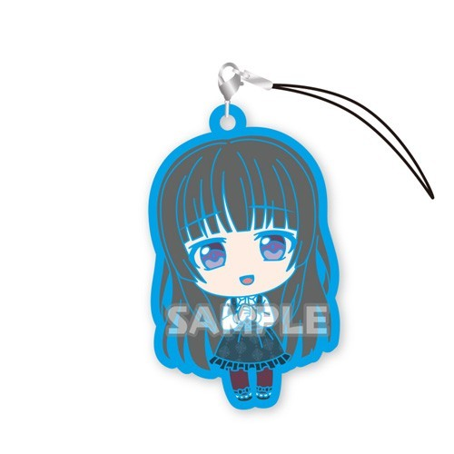 Bang Dream Shirokane Rinko Roselia Ver. Vol. 2 Gashapon Rubber Phone Strap