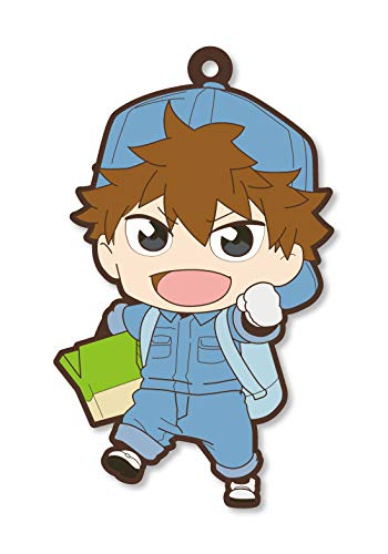 Cells at Work B Cell Rubber Phone Strap