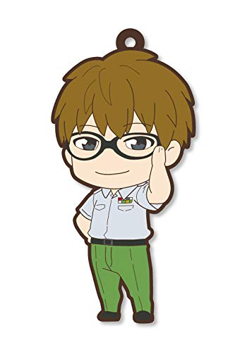 Cells at Work Helper T Cell Rubber Phone Strap