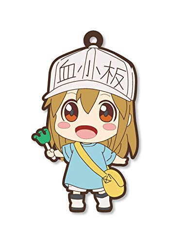 Cells at Work Platelet Rubber Phone Strap