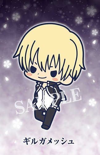 Fate Stay Night Heaven's Feel Gilgamesh Rubber Phone Strap Collection Gekijouban
