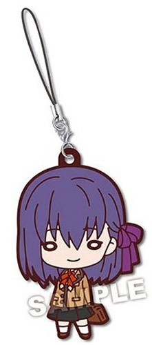Fate Stay Night Matou Sakura Nitotan Rubber Phone Strap