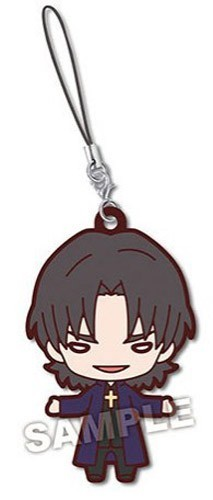 Fate Stay Night Kotomine Kirei Nitotan Rubber Phone Strap