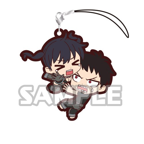 Fire Force Shinra Kusakabe, Tamaki Kotatsu Duos Rubber Phone Strap