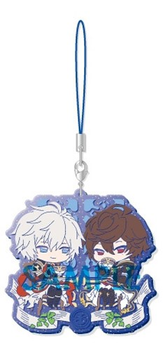Granblue Fantasy Lucifer and Sandalphon Clear Rubber Phone Strap Part III