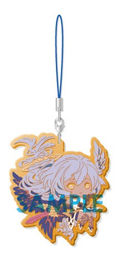 Granblue Fantasy Azrael Clear Rubber Phone Strap Part III