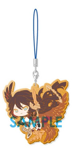Granblue Fantasy Israfel Clear Rubber Phone Strap Part III