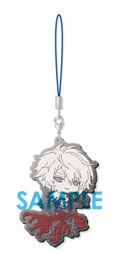 Granblue Fantasy Lucilius Clear Rubber Phone Strap Part III