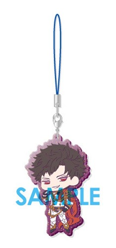 Granblue Fantasy Belial Clear Rubber Phone Strap Part III