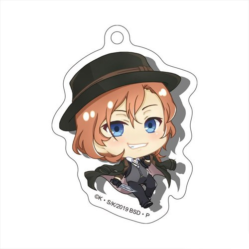 Bungo Stray Dogs Chuya Nakahara Normal Acrylic Phone Strap By Granup