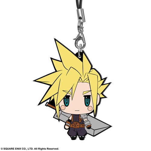 Final Fantasy VII Cloud Trading Rubber Phone Strap Extended Edition