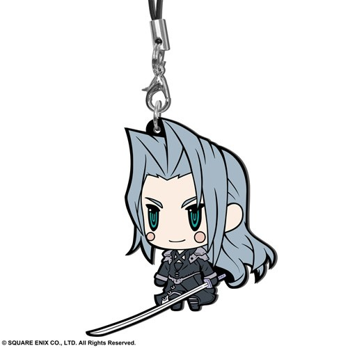 Final Fantasy VII Sephiroth Trading Rubber Phone Strap Extended Edition