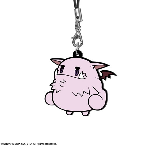 Final Fantasy VII Moogle Trading Rubber Phone Strap Extended Edition