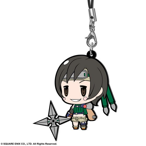 Final Fantasy VII Yuffie Trading Rubber Phone Strap Extended Edition
