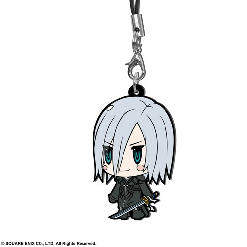 Final Fantasy VII Kadaj Trading Rubber Phone Strap Extended Edition