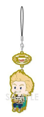 My Hero Academia Togata Mirio Tea Party Ver. Chara Yura Rubber Phone Strap