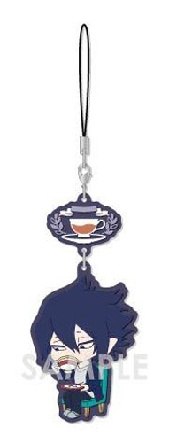 My Hero Academia Amajiki Tamaki Tea Party Ver. Chara Yura Rubber Phone Strap