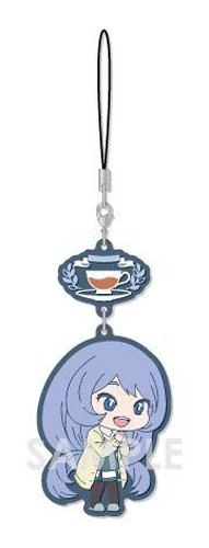 My Hero Academia Hado Nejire Tea Party Ver. Chara Yura Rubber Phone Strap