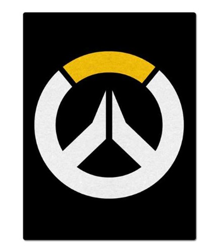 Overwatch Logo Fleece Blanket
