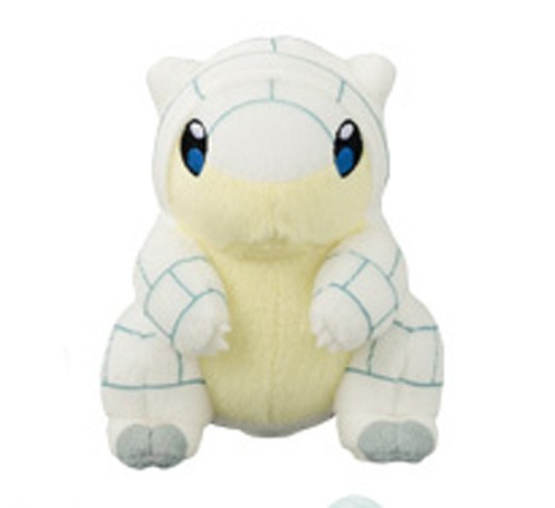 Pokemon 6'' Alolan Sandshrew Banpresto Prize Plush
