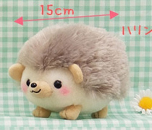 Harinezumi Harin 6'' Brown Hedgehog Amuse Prize Plush