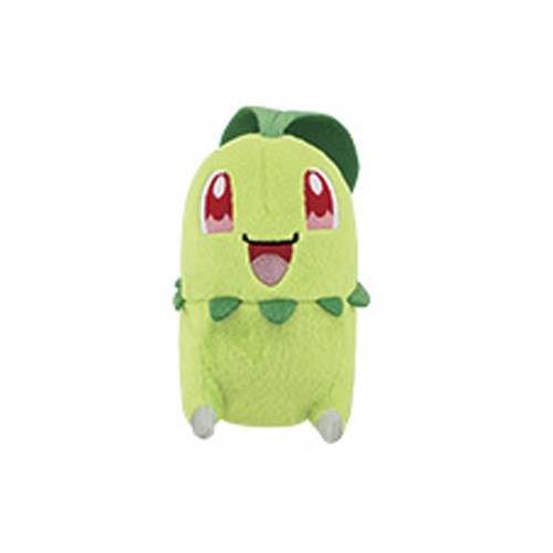 Pokemon 5'' Chikorita Leaf Series Starter Banpresto Prize Plush