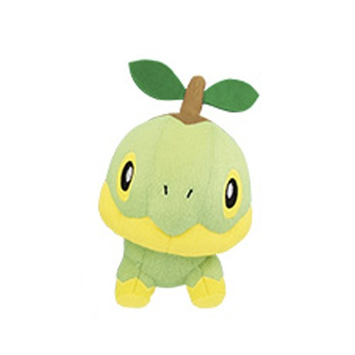 Pokemon 5'' Turtwig Leaf Series Starter Banpresto Prize Plush