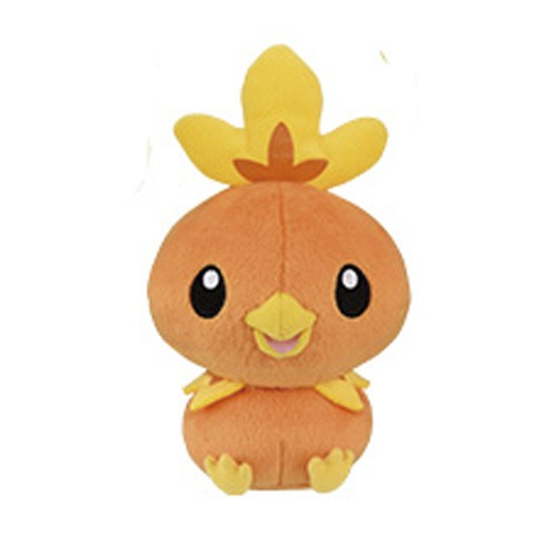 Pokemon 5'' Torchic Fire Series Starter Banpresto Prize Plush