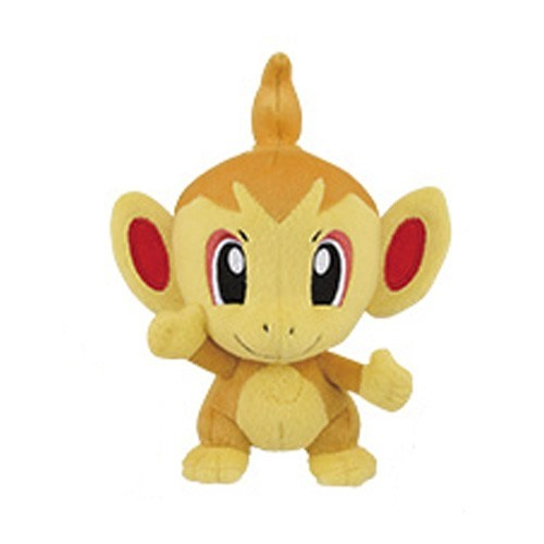 Pokemon 5'' Chimchar Fire Series Starter Banpresto Prize Plush