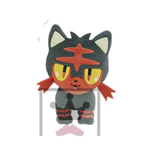 Pokemon 5'' Litten Fire Series Starter Banpresto Prize Plush
