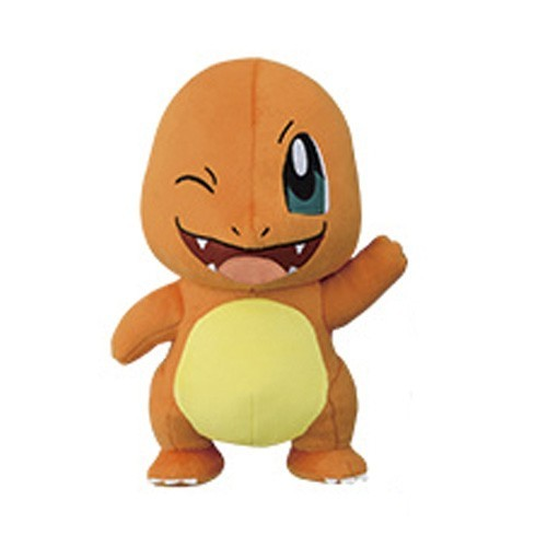Pokemon 10'' Charmander Winking Starter Banpresto Prize Plush