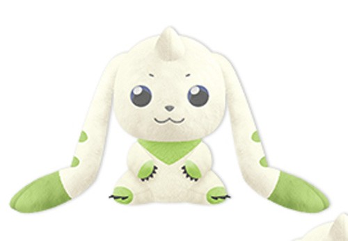 Digimon 10'' Sitting I love Terriermon Banpresto Prize Plush