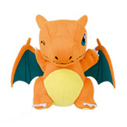Pokemon 5'' Charizard Standing Banpresto Prize Plush