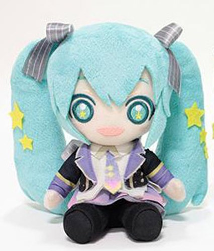 Vocaloid 6/'/' Hatsune Miku Yellow Dress Sega Prize Plush