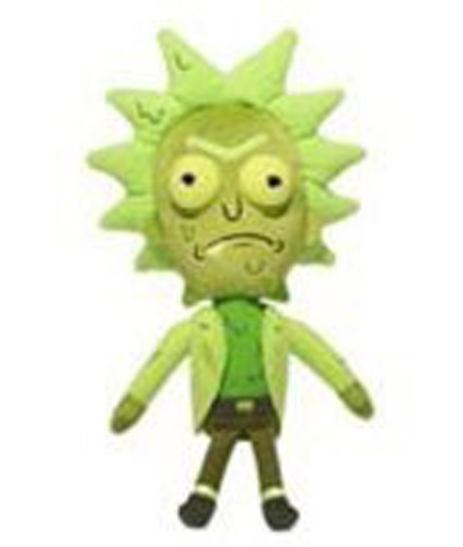 Rick and Morty 8'' Toxic Rick Series 2 Galactic Funko Plush