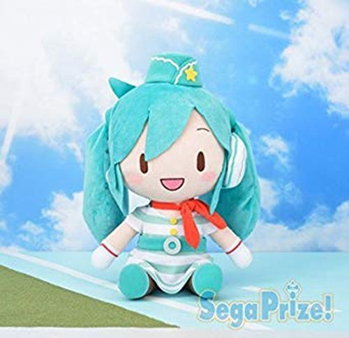 Vocaloid 12'' Flight Attendant Miku Prize Plush