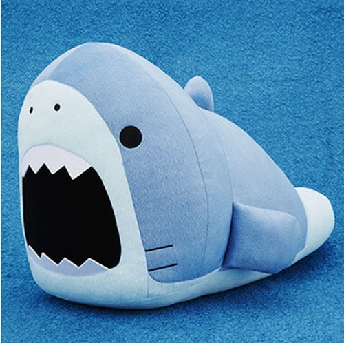 Samezu Shark 14'' Hojiro Bellyflop Plush