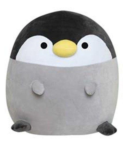 Mochi Animals 12'' Black and Gray Penguin Prize Plush