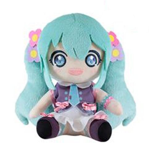 Vocaloid 8'' Summer Miku Back Pack Taito Prize Plush