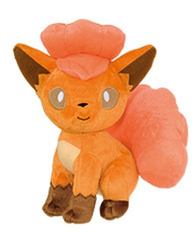 Pokemon 10'' Vulpix Sitting Banpresto Prize Plush