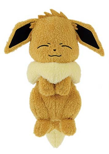Pokemon 10'' Eevee Sleeping Banpresto Prize Plush