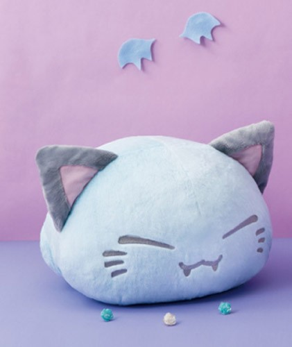Nemuneko 12'' Vampire Bat Ver. Blue  Sleeping Cat Plush