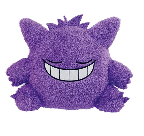 Pokemon 10'' Gengar Kutsurogi Time Banpresto Prize Plush