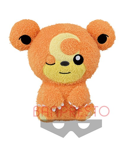 Pokemon 10'' Teddiursa Kutsurogi Time Banpresto Prize Plush