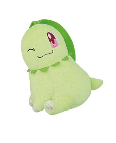 Pokemon 6'' Chikorita Hopepita Banpresto Prize Plush
