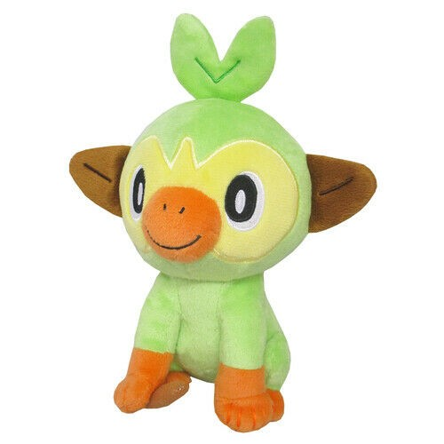 Pokemon Sword and Shield 6'' Grookey Sanei Import Plush