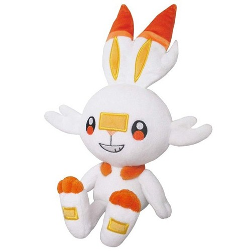 Pokemon Sword and Shield 6'' Scorbunny Sanei Import Plush