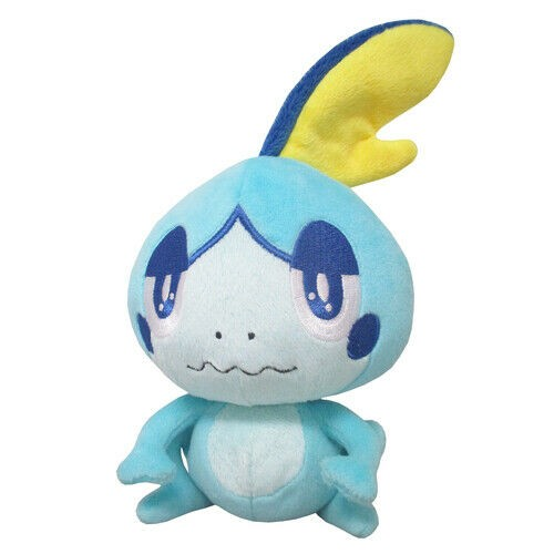 Pokemon Sword and Shield 6'' Sobble Sanei Import Plush